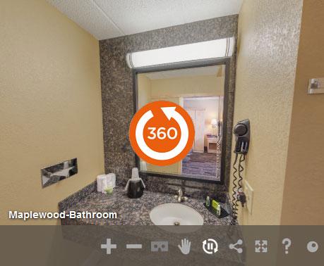 Bathroom At Livinn Hotel St Paul