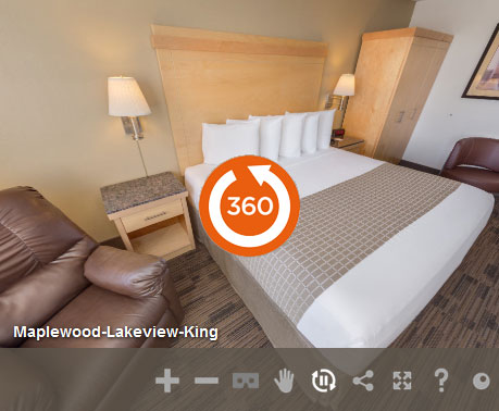Deluxe King Accessible Non Smoking at LivINN Hotel St. Paul