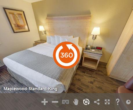 Economy King Non Smoking in LivINN Hotel St. Paul