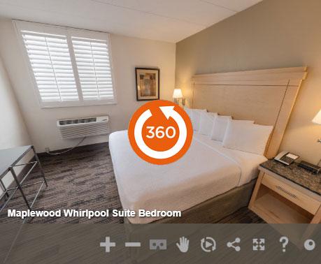 Maplewood Whirlpool Suite Bedroom